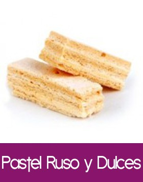 Pasteles Rusos y Dulces típicos