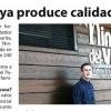 """Entrevista a Juan Navajas en la revista """"Escaparate"""""""